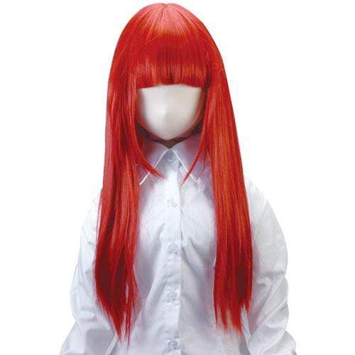 Tokyo Libido - Air Usahane Long Red Hair Wig Love Doll Accessory (Red) Accessories 4582167500754 CherryAffairs