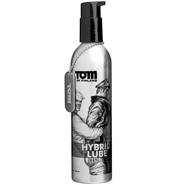 Tom of Finland - Hybrid Lube 8 Ounce (Silver) Lube (Silicone Based) - CherryAffairs Singapore