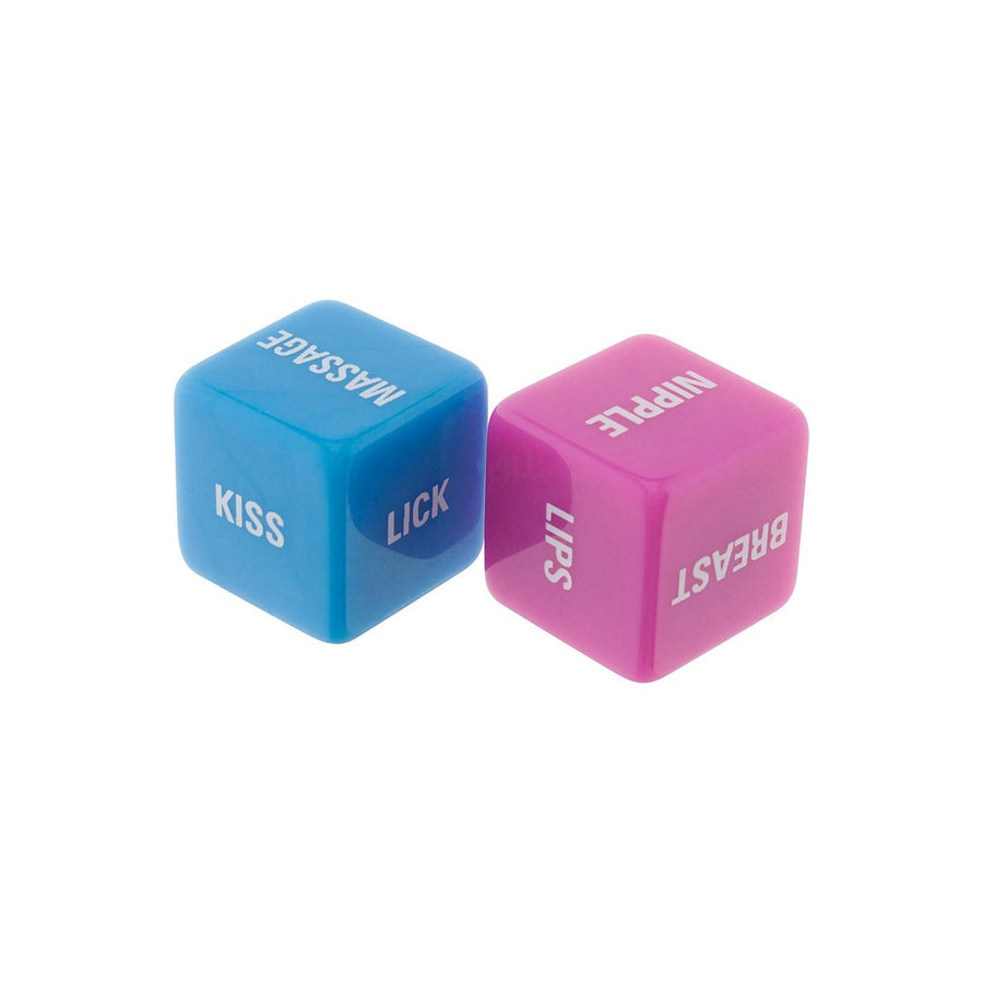 ToyJoy - Lovers Dice (Pink/Blue) Games Singapore