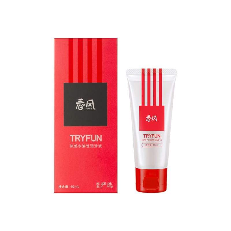 TryFun - Thermal Warming Water Soluble Personal Lubricant Fluid 40ml Warming Lube