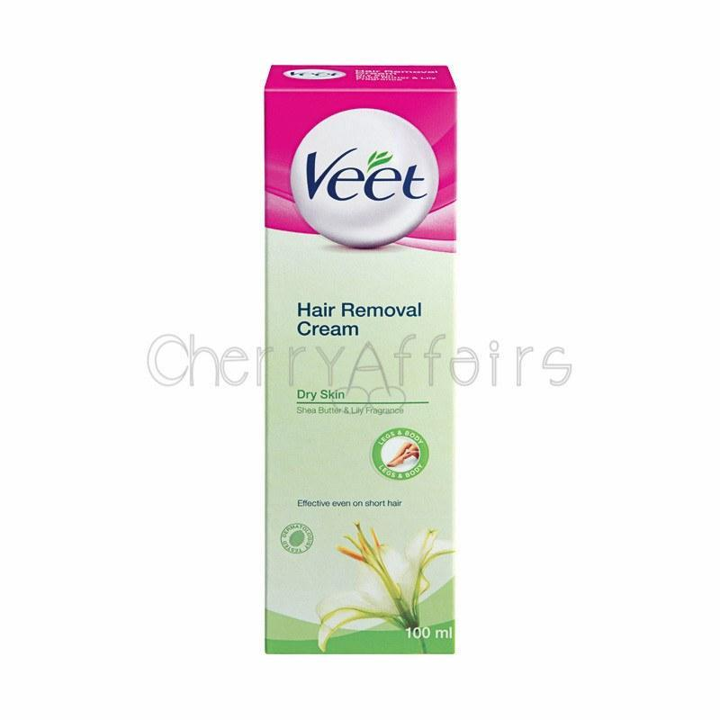 Veet - Hair Removal Cream for Dry Skin 100 ml Hair Removal Cream - CherryAffairs Singapore