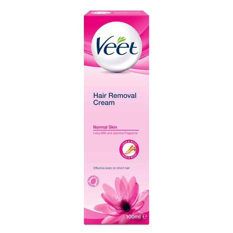 Veet - Hair Removal Cream for Normal Skin 100 ml Hair Removal Cream Singapore