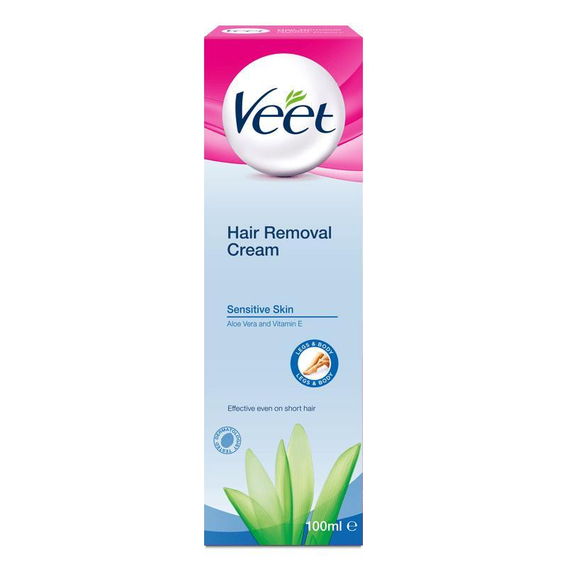 Veet - Hair Removal Cream for Sensitive Skin 100 ml Hair Removal Cream Singapore