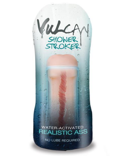 Vulcan - CyberSkin H2O Vulcan Shower Ass Stroker (Blue) Masturbator Ass (Non Vibration) Singapore