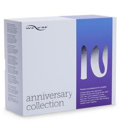 WE VIBE - Anniversary Collection Couples' Vibrators (Purple) | CherryAffairs Singapore