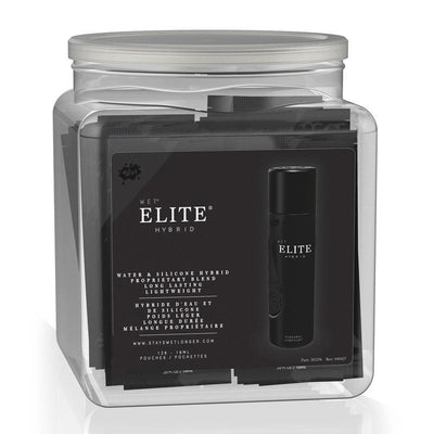 Wet - Elite Hybrid Personal Lubricant 120pcs 10ml with Container (Black) Lube (Silicone Based) Singapore