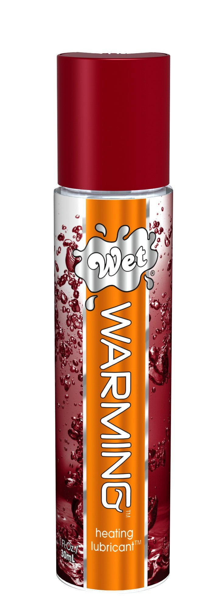 Wet - Warming Heating Lubricant 30ml (Red) Warming Lube Singapore