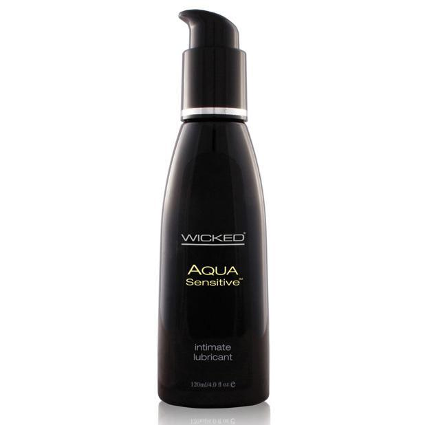 Wicked - Aqua Sensitive Hypoallergenic Waterbased Lubricant (Lube) Lube (Water Based) - CherryAffairs Singapore