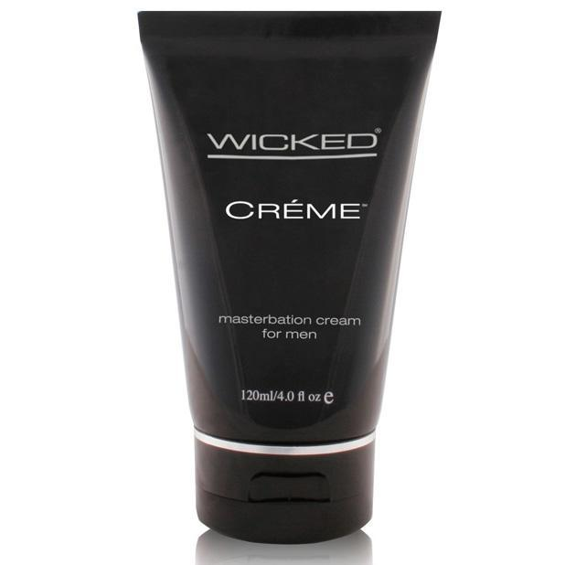 Wicked - Crème Silicone Based Masturbation Cream for Men 4 oz Lube (Silicone Based) - CherryAffairs Singapore