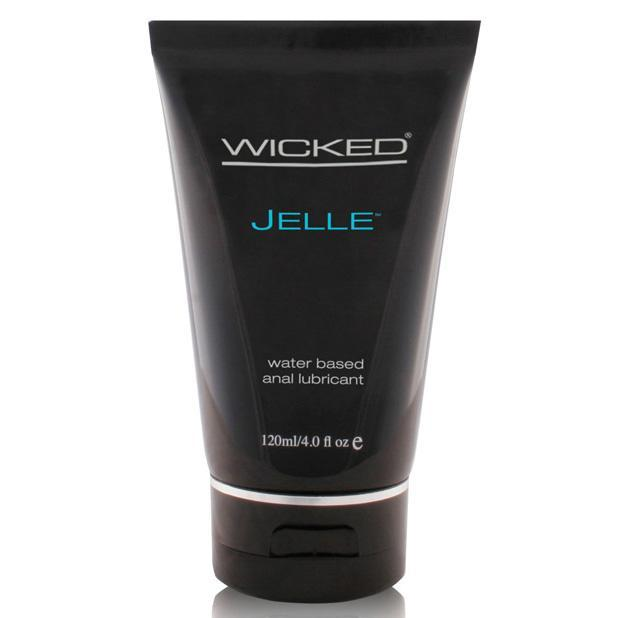 Wicked - Jelle Waterbased Anal Lubricant 4 oz (Lube) Lube (Water Based) - CherryAffairs Singapore