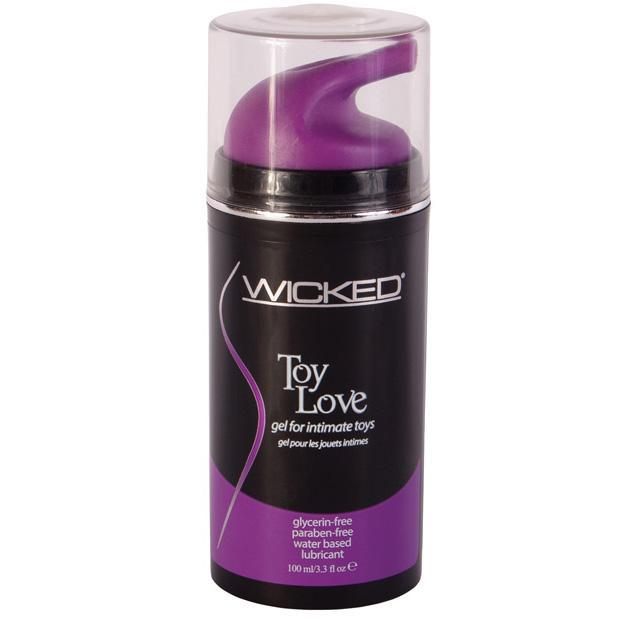 Wicked - Toy Love Waterbased Lubricant 3.3 oz (Lube) Lube (Water Based) - CherryAffairs Singapore