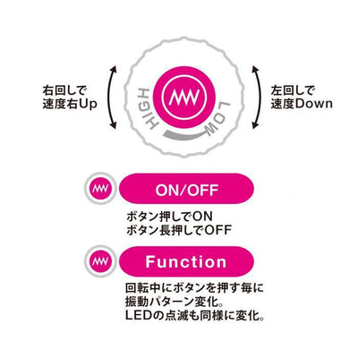 Wild One - Pink Dema 3 Wand Massager (Pink) Wand Massagers (Vibration) Non Rechargeable Singapore