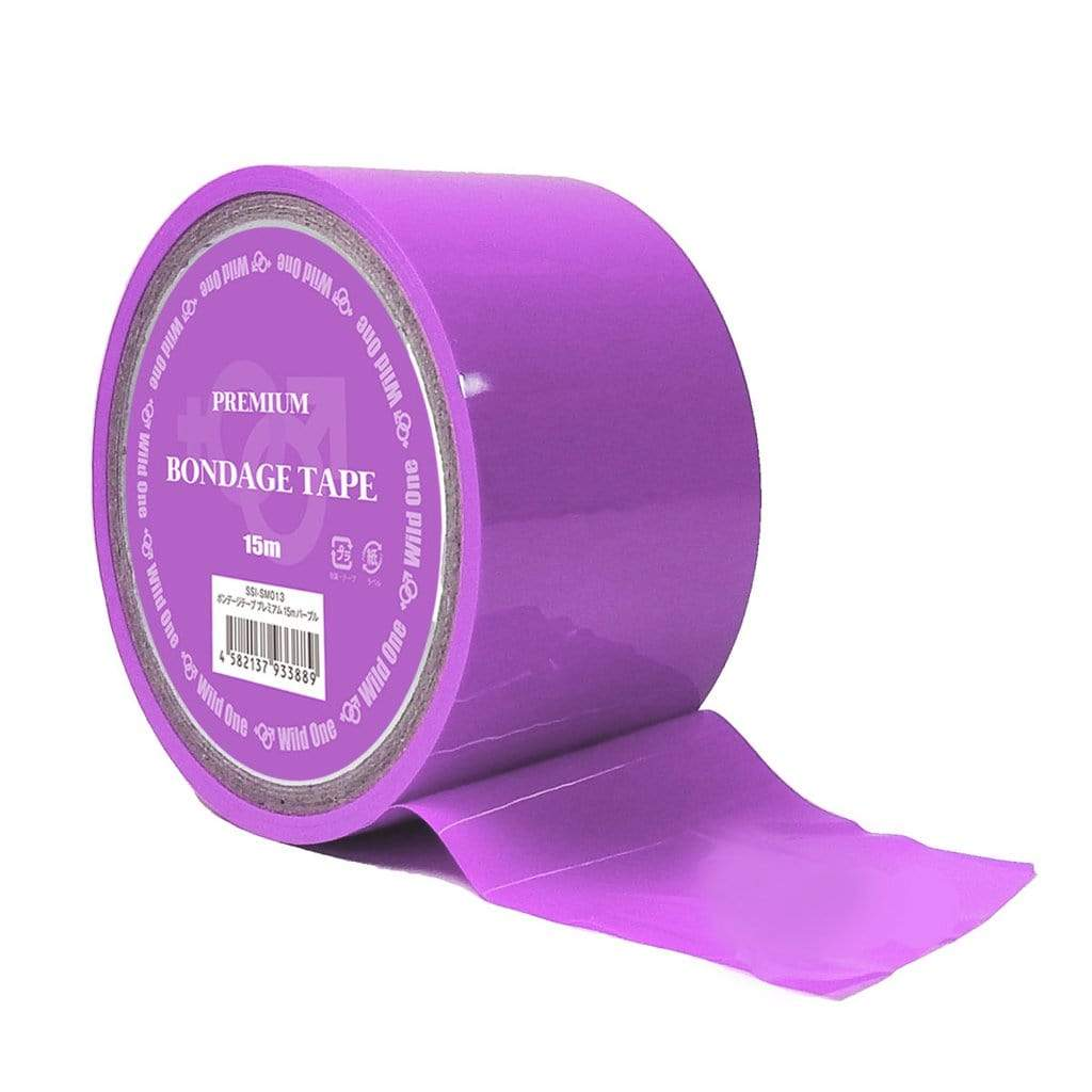 Wild One - Premium BDSM Bondage Tape 15m (Purple) BDSM Tape 4582137933889 CherryAffairs