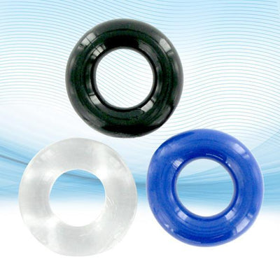 XLSucker - Thick Stretchy Cock Ring Rubber Cock Ring (Non Vibration) Singapore