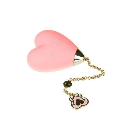 Zalo - Lolita Baby Heart Clit Massager (Strawberry Pink) Clit Massager (Vibration) Rechargeable - CherryAffairs Singapore