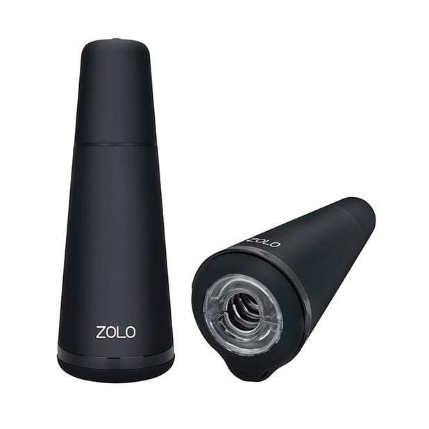 Zolo - Stealth Vibrating Smart Stimulator (Black) Masturbator Soft Stroker (Vibration) Rechargeable 848416004461 CherryAffairs
