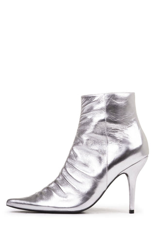 Jeffrey Campbell ROMULA, Silver Booties