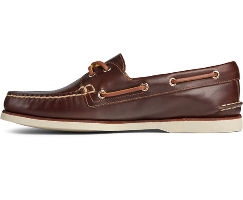 Sperry Top-Sider A/O 2-Eye Leather Boat Shoes BROWN