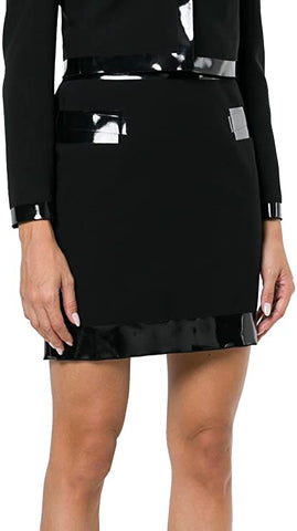 MOSCHINO WOMEN ACETATE DAMEN ROCK SKIRT BLACK A010954241555