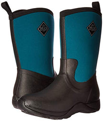 Muck Arctic Weekend Green Mid-Height Rubber Women's Waterproof Winter Boots