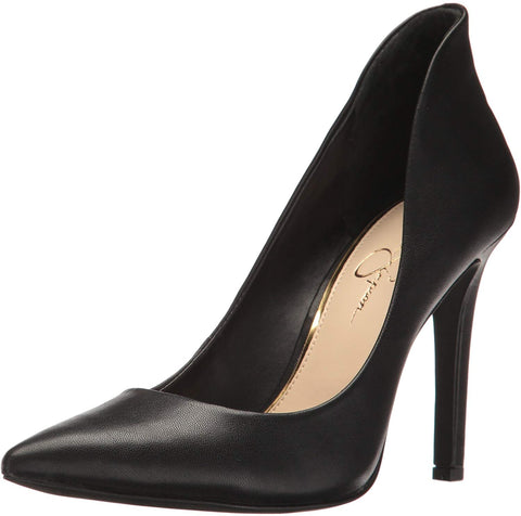 Jessica Simpson Women's Cambredge Black Highback Dress Pump