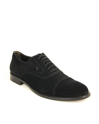 Tod's Men's FRANCESINA Shoes Leather Suede Lace Up Oxford Shoes
