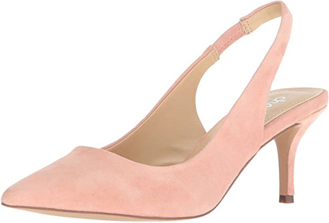 CHARLES BY Charles David Women's Amy Pump, Rose Pink Suede Pointed Pumps