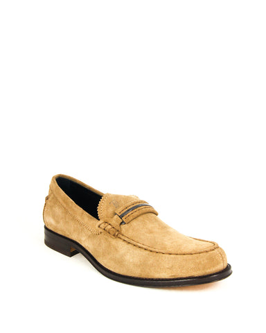 Tod's Men's CUOIO Gommino Leather Moccasins Loafers Shoes, TABACCO CHIARO