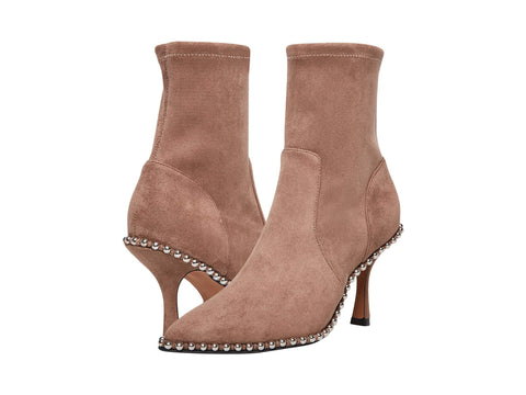 Steve Madden Women's Jemmah Pointed Toe Pull-on Ankle Boot TAUPE