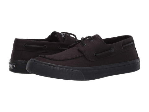 Sperry Bahama II Slip On Boat Shoe Loafers BLACKOUT
