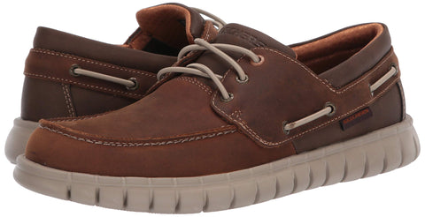 Skechers Men's Cali Gear Loafer Lace Up Boat Shoe Mocassin