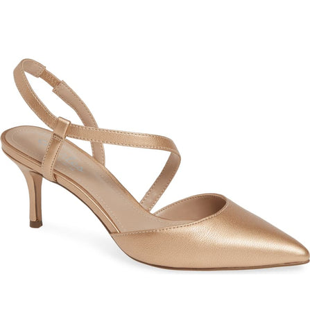 CHARLES BY Charles David Women's Alda Rose Gold Pump