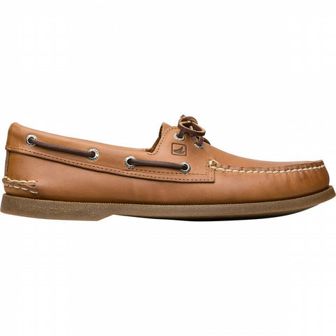 Sperry Top-Sider A/O 2-Eye Leather Boat Shoes NUTMEG