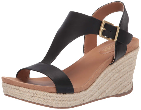 Kenneth Cole REACTION Women's T-Strap Wedge Sandal Size 7.5