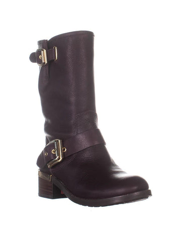 Vince Camuto Women's Windy Dark Wood/Casciano Short Boots DARK WOOD