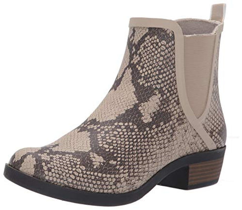 Lucky Brand Basel H20 Chinchilla Waterproof Pull On Chelsea Rain Snow Bootie