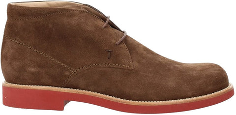 Tod's Men's High-Top Shoe Chamois Brown XXM0WP00D80RE09999