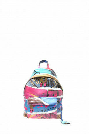 Moschino Editorials Woman's Multicolor Medium Backpack