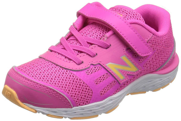 New Balance Kids' 680V5 Hook and Loop Running Shoe size 5