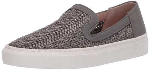Steve Madden Women's Kicks Raffia Slip On Sneakers GREY MULTI