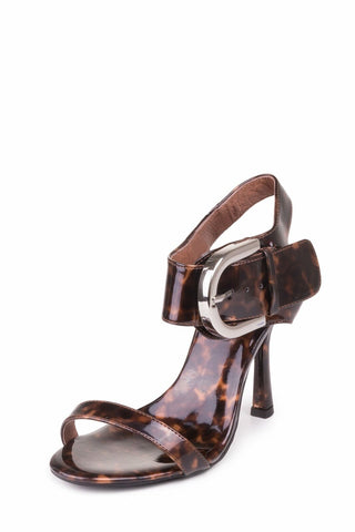 Jeffrey Campbell Cynthia Tortoise Heeled Sandals