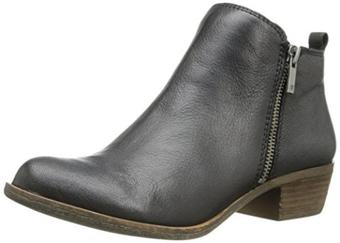 Lucky Women's Basel Boot, Black, 9.5 M US