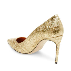 Brian Atwood VALERIE Pump, Gold Foil Metallic