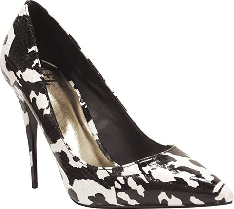 LFL LUST FOR LIFE ELEKTRIK BLACK WHITE MULTI SNAKE PUMPS