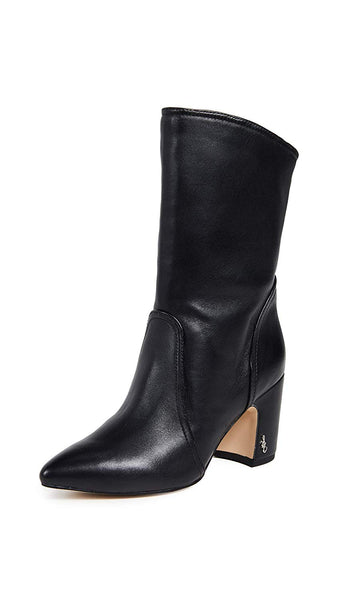 Sam Edelman Women's Hartley Classic Pull Up Comfortable Ankle Boots