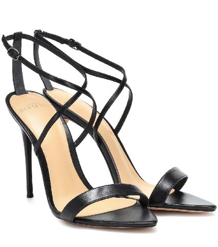 ALEXANDRE BIRMAN  Leather Sandals In Black