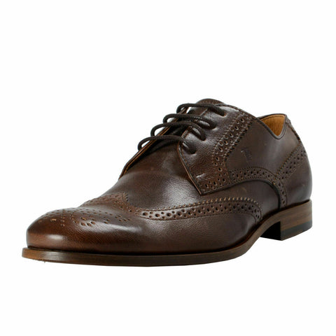 Tod's Men's  Leather Wing Tip Oxfords Brown XXM0SY00C10CL1S804
