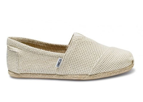 TOMS Mens Classics Freetown Shoe Natural