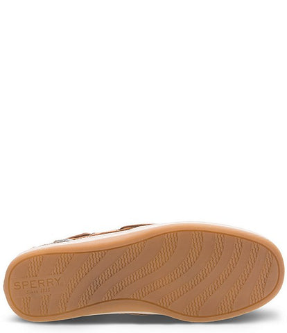 Sperry Top-Sider Songfish Slip On Boat Shoe LINEN/OAT