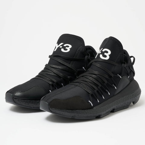 ADIDAS Y-3 Y-3 Kusari - Black BC0955 Lace Up Snakers